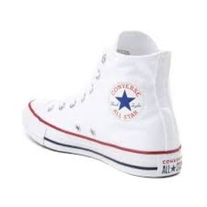 Converse Shoes - White high top convers